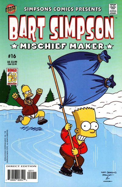 Cover for Simpsons Comics Presents Bart Simpson (Bongo, 2000 series) #16