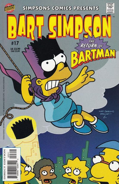 Cover for Simpsons Comics Presents Bart Simpson (Bongo, 2000 series) #17