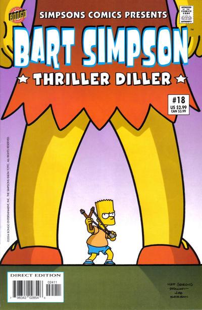 Cover for Simpsons Comics Presents Bart Simpson (Bongo, 2000 series) #18