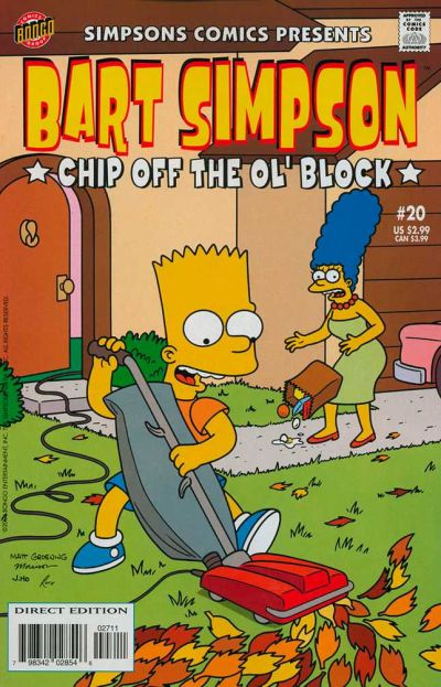 Cover for Simpsons Comics Presents Bart Simpson (Bongo, 2000 series) #20