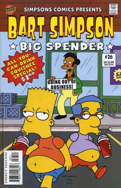 Cover for Simpsons Comics Presents Bart Simpson (Bongo, 2000 series) #26