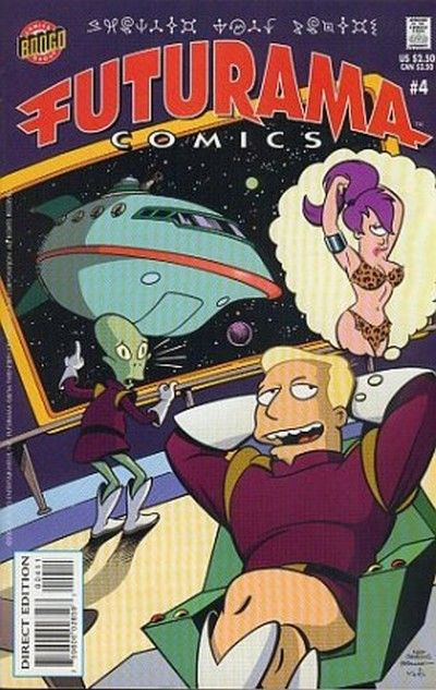 Cover for Bongo Comics Presents Futurama Comics (Bongo, 2000 series) #4