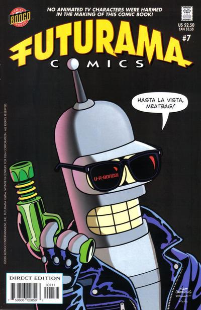 Cover for Bongo Comics Presents Futurama Comics (Bongo, 2000 series) #7