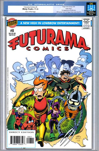 Cover for Bongo Comics Presents Futurama Comics (Bongo, 2000 series) #8 [Direct Edition]