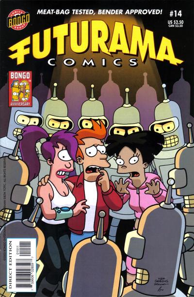 Cover for Bongo Comics Presents Futurama Comics (Bongo, 2000 series) #14