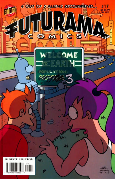 Cover for Bongo Comics Presents Futurama Comics (Bongo, 2000 series) #17