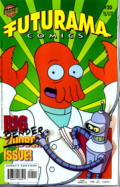 Cover for Bongo Comics Presents Futurama Comics (Bongo, 2000 series) #20
