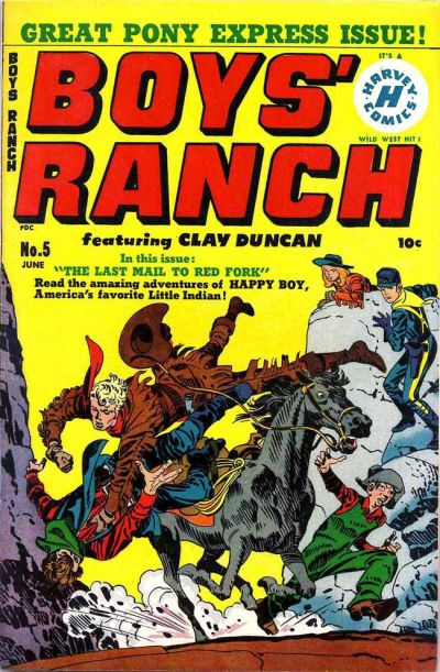 Cover for Boys' Ranch (Harvey, 1950 series) #5