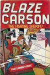 Cover for Blaze Carson Comics (Superior Publishers Limited, 1948 series) #1