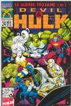 Cover for Devil & Hulk (Marvel Italia, 1994 series) #24