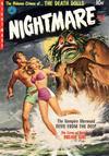 Cover for Nightmare (Ziff-Davis, 1952 series) #2