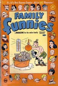Cover Thumbnail for Family Funnies (Harvey, 1950 series) #2