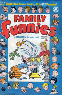 Cover Thumbnail for Family Funnies (Harvey, 1950 series) #3