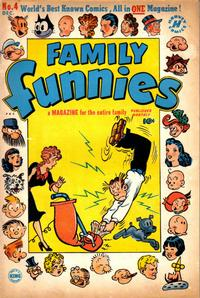Cover Thumbnail for Family Funnies (Harvey, 1950 series) #4