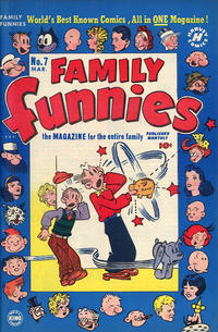 Cover Thumbnail for Family Funnies (Harvey, 1950 series) #7
