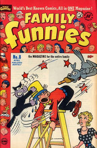 Cover Thumbnail for Family Funnies (Harvey, 1950 series) #8