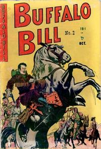 Cover Thumbnail for Buffalo Bill (Youthful, 1950 series) #2