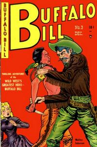 Cover Thumbnail for Buffalo Bill (Youthful, 1950 series) #3