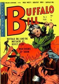 Cover Thumbnail for Buffalo Bill (Youthful, 1950 series) #4