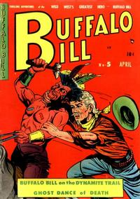 Cover Thumbnail for Buffalo Bill (Youthful, 1950 series) #5