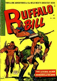 Cover Thumbnail for Buffalo Bill (Youthful, 1950 series) #8