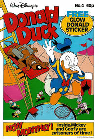 Cover Thumbnail for Walt Disney's Donald Duck (Egmont Magazines, 1987 series) #4
