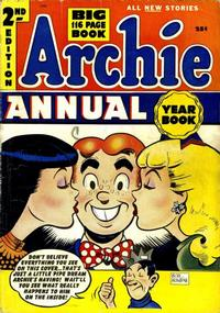 Cover Thumbnail for Archie Annual (Archie, 1950 series) #2