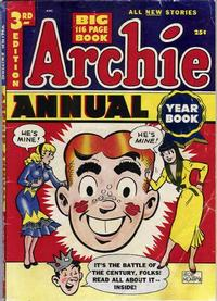 Cover Thumbnail for Archie Annual (Archie, 1950 series) #3