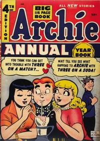Cover Thumbnail for Archie Annual (Archie, 1950 series) #4