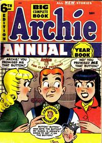 Cover Thumbnail for Archie Annual (Archie, 1950 series) #6