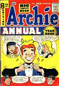 Cover Thumbnail for Archie Annual (Archie, 1950 series) #8