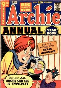 Cover Thumbnail for Archie Annual (Archie, 1950 series) #9