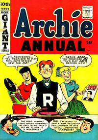 Cover Thumbnail for Archie Annual (Archie, 1950 series) #10