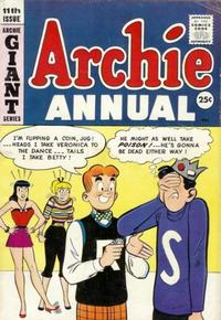 Cover Thumbnail for Archie Annual (Archie, 1950 series) #11