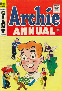 Cover Thumbnail for Archie Annual (Archie, 1950 series) #12