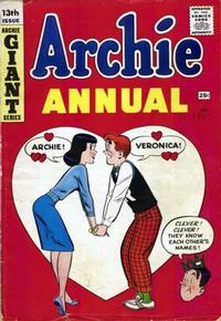 Cover Thumbnail for Archie Annual (Archie, 1950 series) #13