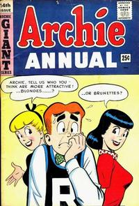 Cover Thumbnail for Archie Annual (Archie, 1950 series) #14