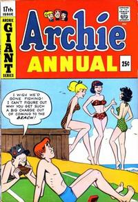 Cover Thumbnail for Archie Annual (Archie, 1950 series) #17
