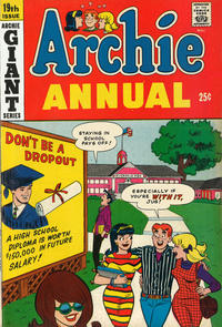 Cover Thumbnail for Archie Annual (Archie, 1950 series) #19