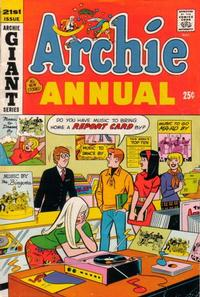 Cover Thumbnail for Archie Annual (Archie, 1950 series) #21