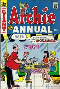 Cover Thumbnail for Archie Annual (Archie, 1950 series) #22