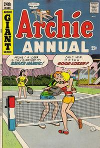 Cover Thumbnail for Archie Annual (Archie, 1950 series) #24