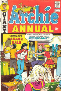 Cover Thumbnail for Archie Annual (Archie, 1950 series) #25