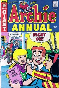 Cover Thumbnail for Archie Annual (Archie, 1950 series) #26