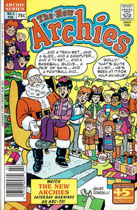 Cover Thumbnail for The New Archies (Archie, 1987 series) #3