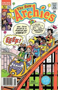 Cover Thumbnail for The New Archies (Archie, 1987 series) #6