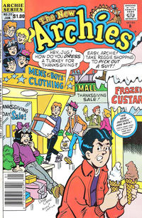 Cover Thumbnail for The New Archies (Archie, 1987 series) #20 [Newsstand]