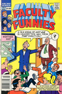 Cover Thumbnail for Faculty Funnies (Archie, 1989 series) #4