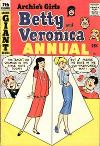 Cover Thumbnail for Archie's Girls, Betty and Veronica Annual (Archie, 1953 series) #7