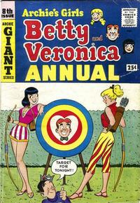 Cover Thumbnail for Archie's Girls, Betty and Veronica Annual (Archie, 1953 series) #8